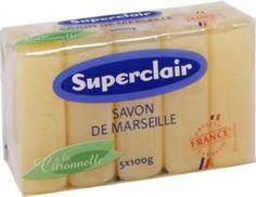 Средства по уходу за телом Мыло Superclair Марсельское с цитронеллой 5х100 г