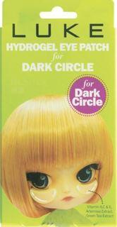 Уход за кожей лица Гидрогелевые патчи для глаз LUKE Против темных кругов с экстрактом зеленого чая