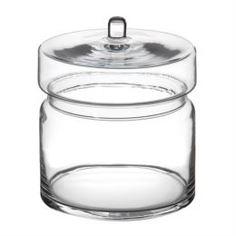 Вазы Ваза с крышкой Hakbijl glass norman 16.5см