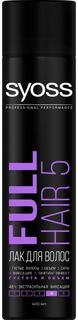 Средства по уходу за волосами Лак для волос Syoss Full Hair 5D 400 мл