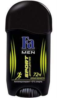 Средства по уходу за телом Дезодорант Fa men Sport double Power boost 50 мл