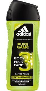 Средства по уходу за телом Гель для душа Adidas Pure Game 250 мл