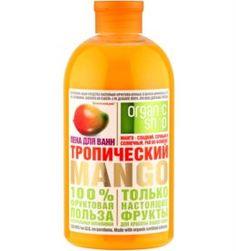 Средства по уходу за телом Пена для ванн Organic Shop Тропический манго 500 мл