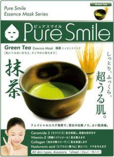 Уход за кожей лица Маска для лица SunSmile Pure Smile Essence Mask Green Tea 23 мл