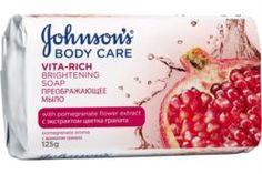Средства по уходу за телом Мыло Johnsons Body Care Vita Rich Преображающее с экстрактом цветка граната 125 г Johnsons
