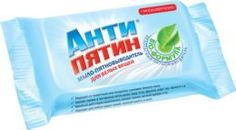 Средства для стирки и ухода за бельем Мыло-пятновыводитель НХК Антипятин для белых вещей 90 г