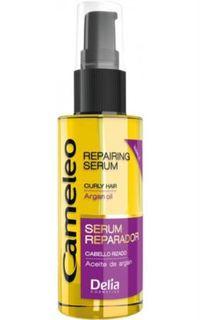 Средства по уходу за волосами Сыворотка для волос Delia Cosmetics Cameleo С маслом Арганы Контроль над кудрями 55 мл