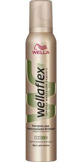 Средства по уходу за волосами Мусс для волос Wellaflex Контроль над непослушными волосами 200 мл