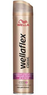 Средства по уходу за волосами Лак для волос Wellaflex Classic Суперсильная фиксация 400 мл