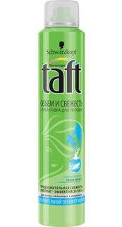 Средства по уходу за волосами Спрей-пудра для укладки Taft Объем и Свежесть 200 мл