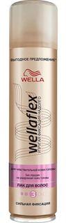 Средства по уходу за волосами Лак для волос Wellaflex Сильная фиксация 400 мл