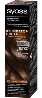 Средства по уходу за волосами Тонирующий мусс Syoss Для темных оттенков