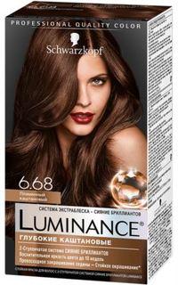 Средства по уходу за волосами Краска для волос Schwarzkopf Luminance Color 6.68 Пламенный каштановый