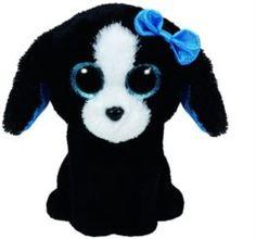 Мягкая игрушка TY Beanie Boos собачка Trace 15 см