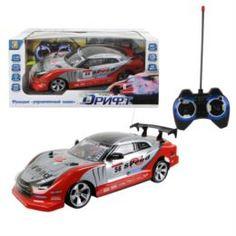 Радиоуправляемые модели Машина на радиоуправлении 1 TOY Дрифт красный