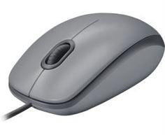 Компьютерные мыши Мышь проводная Logitech M110 Silent Mid Gray 910-005490