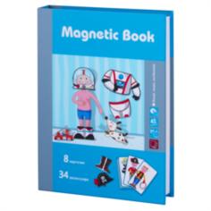 Интерактив обучающий Игра развивающая Magnetic book интересные профессии