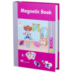 Интерактив обучающий Игра развивающая Magnetic book модница