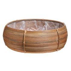 Кашпо, горшки, балконные ящики Кашпо Edelman flower santiago bowl d54см h19см коричневое