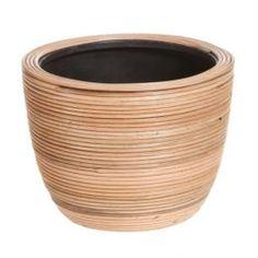 Кашпо, горшки, балконные ящики Кашпо Edelman flower santiago bowl d20см h15см коричневое