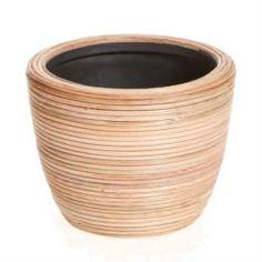 Кашпо, горшки, балконные ящики Кашпо Edelman flower santiago bowl d15см h11см коричневое
