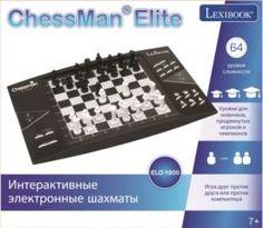 Интерактив обучающий Игра Lexibook электронные шахматы и шашки