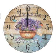 Часы настенные Bolai Arts Прованс 34 см