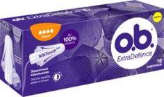 Средства личной гигиены Тампоны o.b. ExtraDefence Super 16 шт