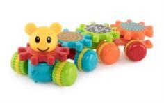 Интерактив обучающий Игрушка развивающая Happy Baby Mechanix Train