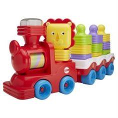 Интерактив обучающий Развивающая игрушка Mattel Поезд в джунглях