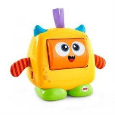 Интерактив обучающий Развивающая игрушка Mattel Добрый монстрик