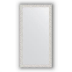 Зеркала для ванной Зеркало в багетной раме Evoform чеканка белая 51х101 см