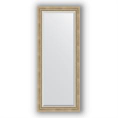 Зеркала для ванной Зеркало в багетной раме Evoform состаренное серебро 58х143 см