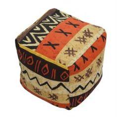 Столы, стулья и пуфики Кубик бескаркасный Dreambag Африка