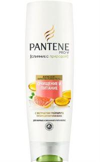 Средства по уходу за волосами Бальзам-ополаскиватель Pantene Слияние с природой Очищение и Питание 400 мл