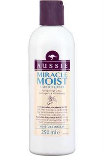 Средства по уходу за волосами Бальзам-ополаскиватель Aussie Miracle Moist для сухих и поврежденных волос 250мл