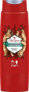 Средства по уходу за телом Гель для душа и шампунь Old Spice Bearglove 400 мл