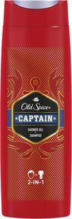 Средства по уходу за телом Гель для душа и шампунь Old Spice Captain 400 мл