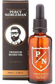 Средства по уходу за волосами Премиальное масло для бороды Percy Nobleman Premium Beard Oil 50 мл