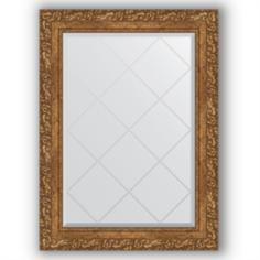 Зеркала для ванной Зеркало в багетной раме Evoform виньетка бронзовая 65x87 см