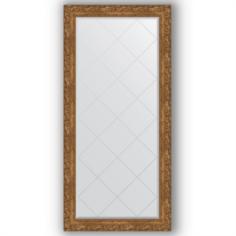 Зеркала для ванной Зеркало в багетной раме Evoform виньетка бронзовая 75x157 см