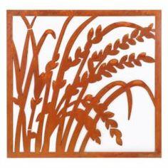 Предметы интерьера Декор настенный Edelman garden овёс 56x56см коричневый