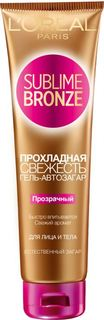 Средства для/против загара Гель-автозагар для лица и тела LOreal Sublime Bronze Прозрачный 150 мл LOreal
