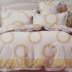 Комплекты постельного белья Постельный комплект Margherita двуспальный евро 4 предмета (KP 3210)