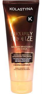 Средства для/против загара Бальзам для тела с эффектом загара Kolastyna Luxury Bronze для смуглой кожи 200 мл
