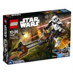 Конструкторы, пазлы Игрушка Звездные войны Штурмовик-разведчик на спидере™ Lego