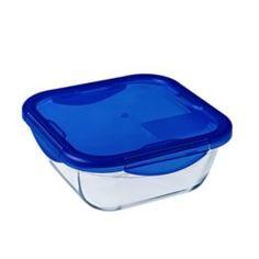 Все для выпечки и запекания Форма Pyrex квадратная с пластик. крышкой 21см (286PG00/7046)