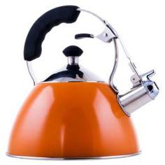 Чайники, кофейники, турки Чайник со свистком Linkfair 2lt Silver (C2001H)