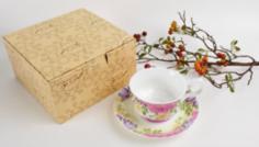 Чайные пары и сервизы Пара чайная Top art studio вальс цветов LD2232-TA