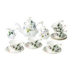 Чайные пары и сервизы Сервиз чайный Монпелье 15 пр Top Art Studio CH2298-TA